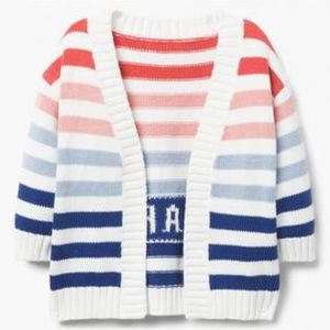 Toddler Girl Open front Cardigan